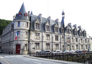 photo de la préfecture de Quimper